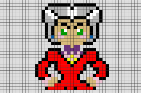 Cinderella Lady Tremaine Pixel Art