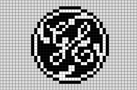 General Electric Pixel Art