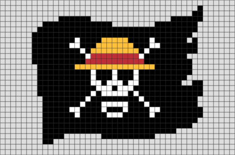 Pirate Pixel Art