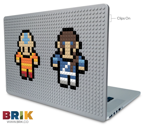 Aang & Katara Laptop Case