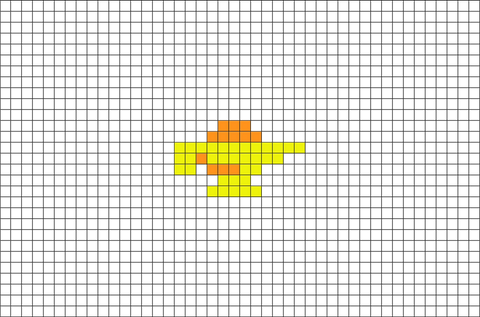 Aladdin Magic Lamp Pixel Art