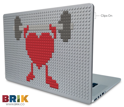 American Heart Month Laptop Case