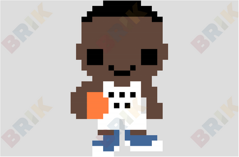 Andrew Christian Wiggins Pixel Art