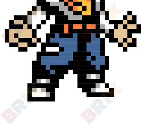 Android 17 Pixel Art
