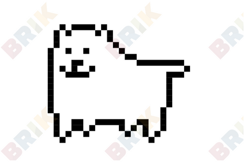 Annoying Dog Pixel Art