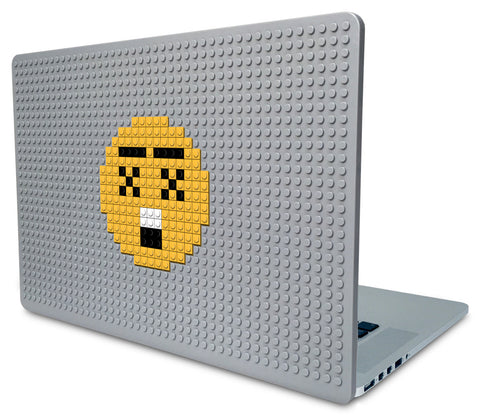 Astonished Face Emoji Laptop Case