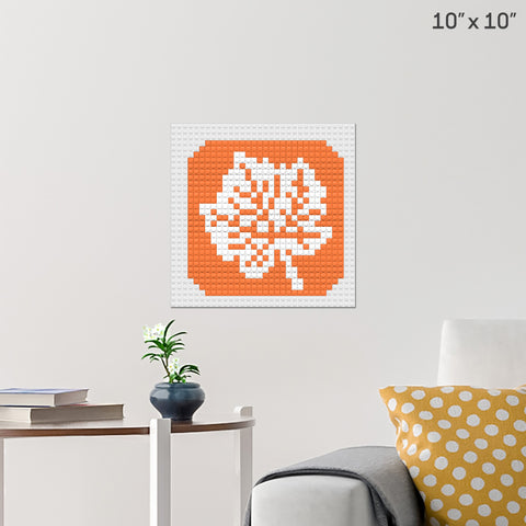 Autumn Brick Poster