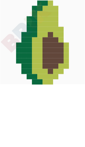 Avocado Pixel Art