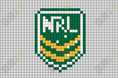 National Rugby League Pixel Art