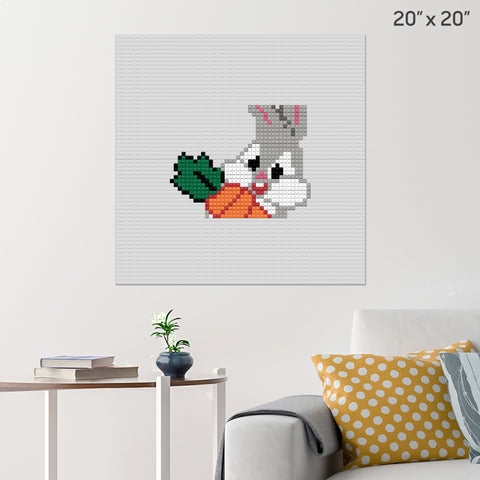 Baby Bugs Brick Poster