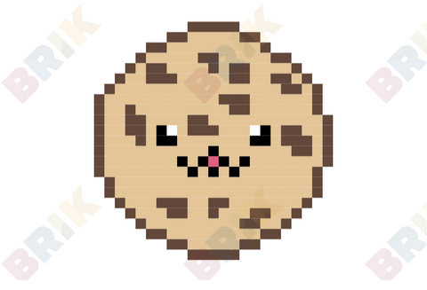 Bake Cookies Day Pixel Art
