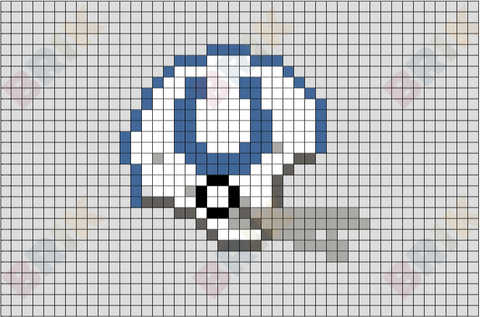 Baltimore Colts Pixel Art