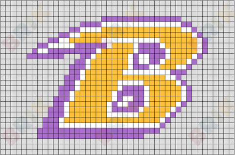 Baltimore Ravens Pixel Art