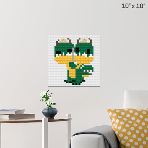 Barf and Belch Brick Poster