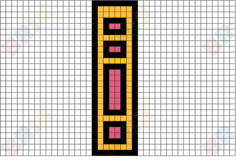 Basic Badge Pixel Art