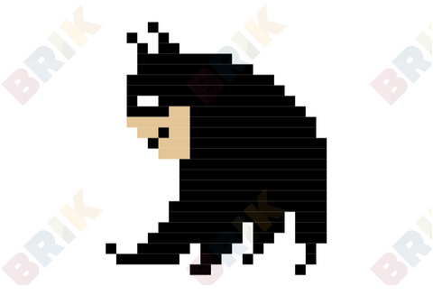Batman Day Pixel Art