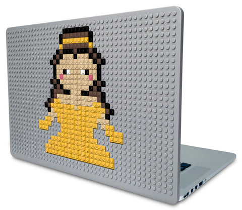 Beauty and the Beast Belle Laptop Case