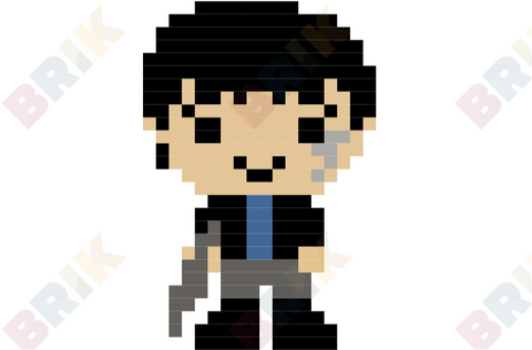 Bellamy Blake Pixel Art