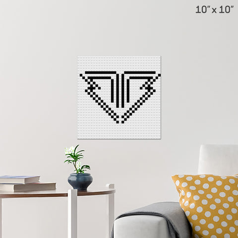 Big Bang Brick Poster