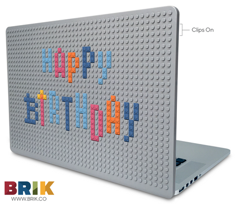 Birthday Greetings Laptop Case
