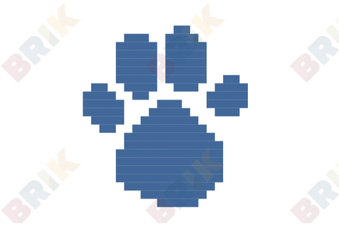 Blue's Clues Pixel Art