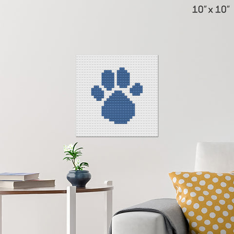 Blue's Clues Brick Poster