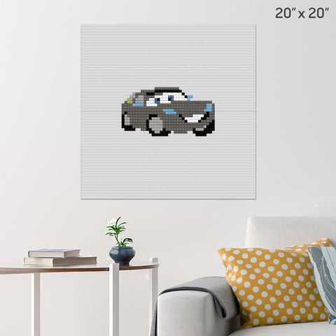 Bob Cutlass Brick Poster