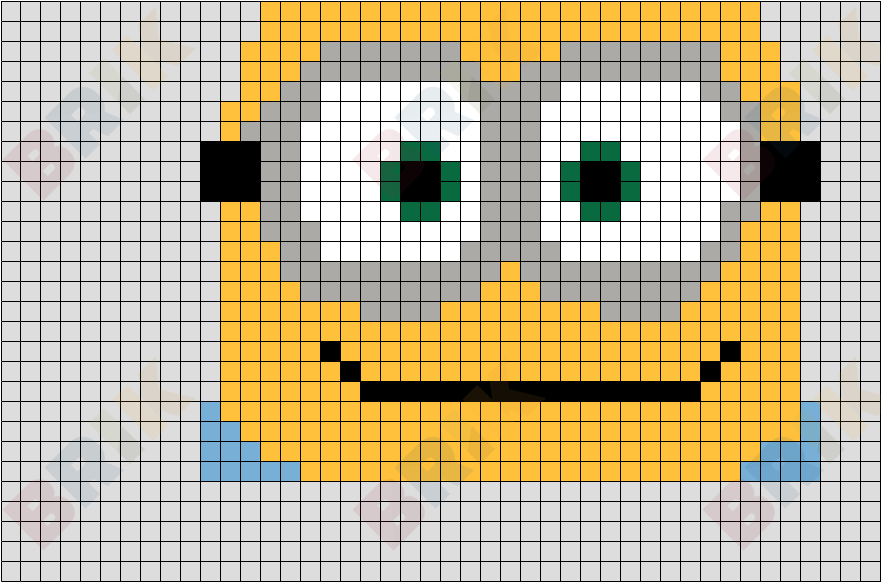 Pixel Bob The Minion Brik