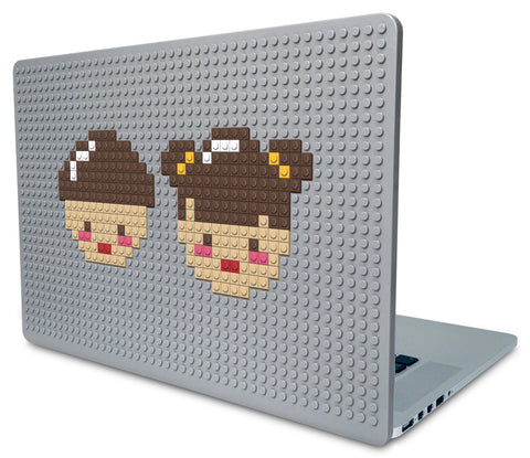 Boy and Girl Laptop Case