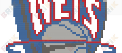 Brooklyn Nets Pixel Art