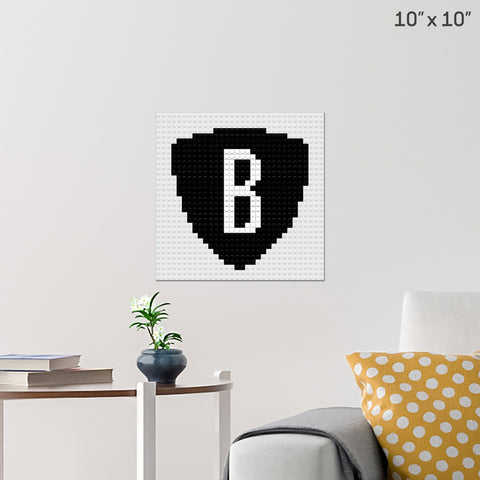 Brooklyn Nets Brick Poster