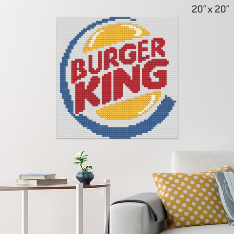 Burger King Brick Poster