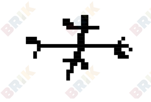 Calm Anger Rune Pixel Art