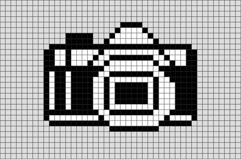 Camera Pixel Art