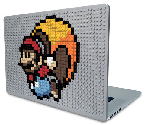 Caped Mario Laptop Case