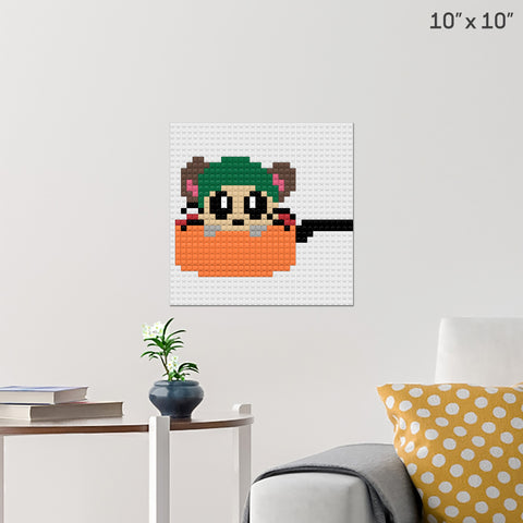 Cappy Brick Poster
