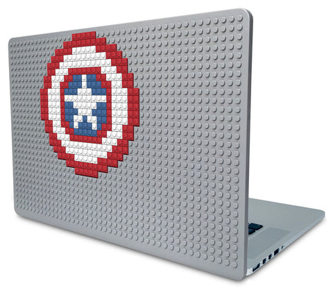 Captain America Shield Laptop Case