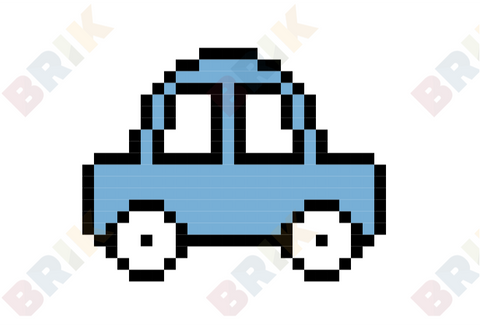 Car Pixel Art