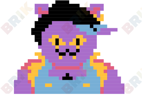 Catty Pixel Art