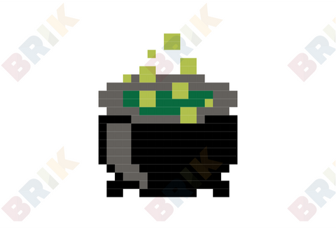 Cauldron Pixel Art