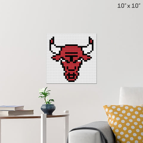 Chicago Bulls Brick Poster