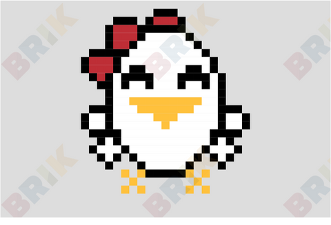 Chicken Pixel Art