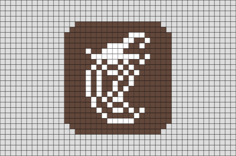 Chipotle Mexican Grill Pixel Art