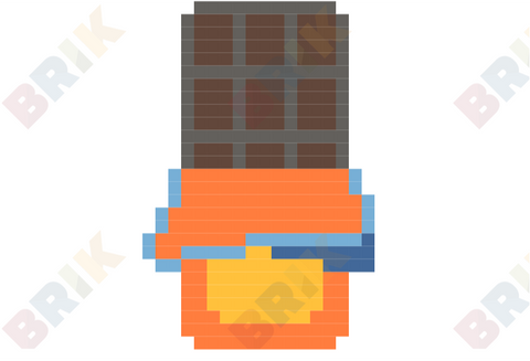 Chocolate Bar Pixel Art