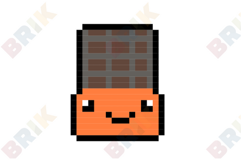 Chocolate Pixel Art
