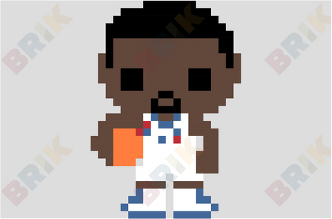 Chris Paul Pixel Art