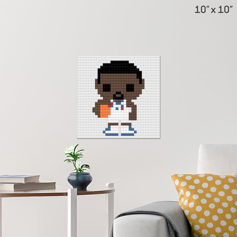 Chris Paul Brick Poster