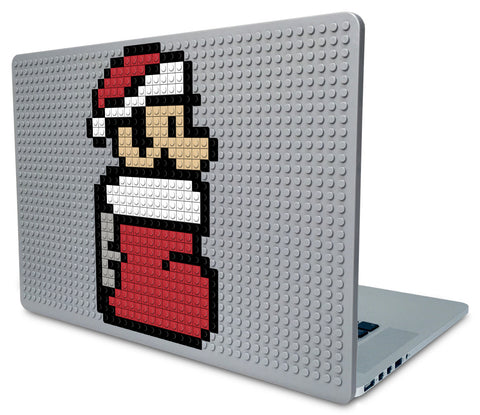 Christmas Mario Laptop Case