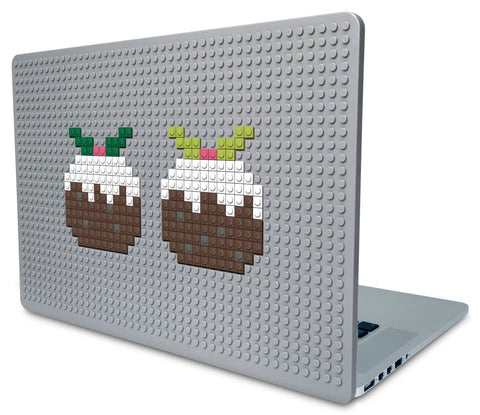 Christmas Pudding Laptop Case