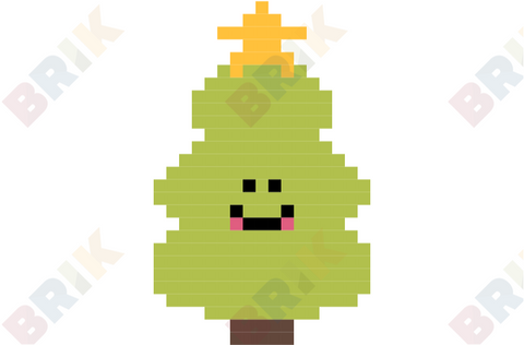 Christmas Tree Pixel Art